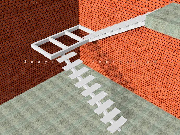 Каркас лестницы на Монокосоуре для загородного дома на второй этаж , по всем нормам и правилам изготовления строго по ГОСт. Заказать лестницу на Монокосоуре в Москве и области на сайте либо по телефону +7 (985) 517-77-07